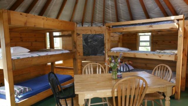 Yurt Interior